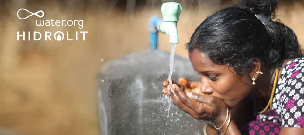 Water.org e HIDROLIT juntos por un Mundo Mejor