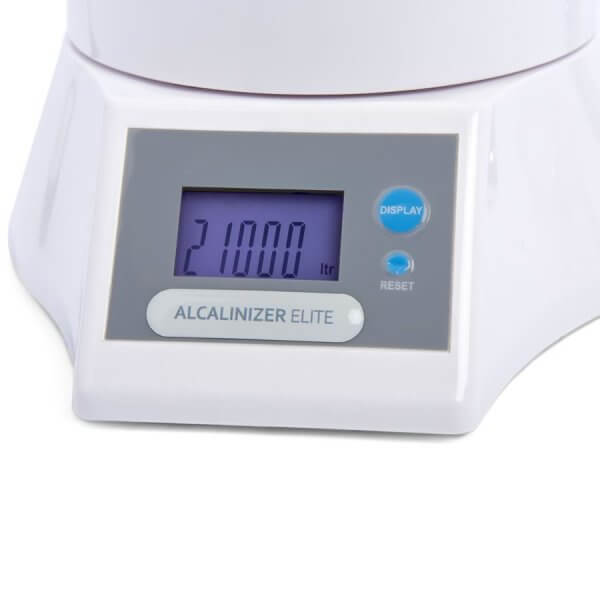 Display Digital Indicador litros Purificador de Agua Hidrolit Alcalinizer Elite