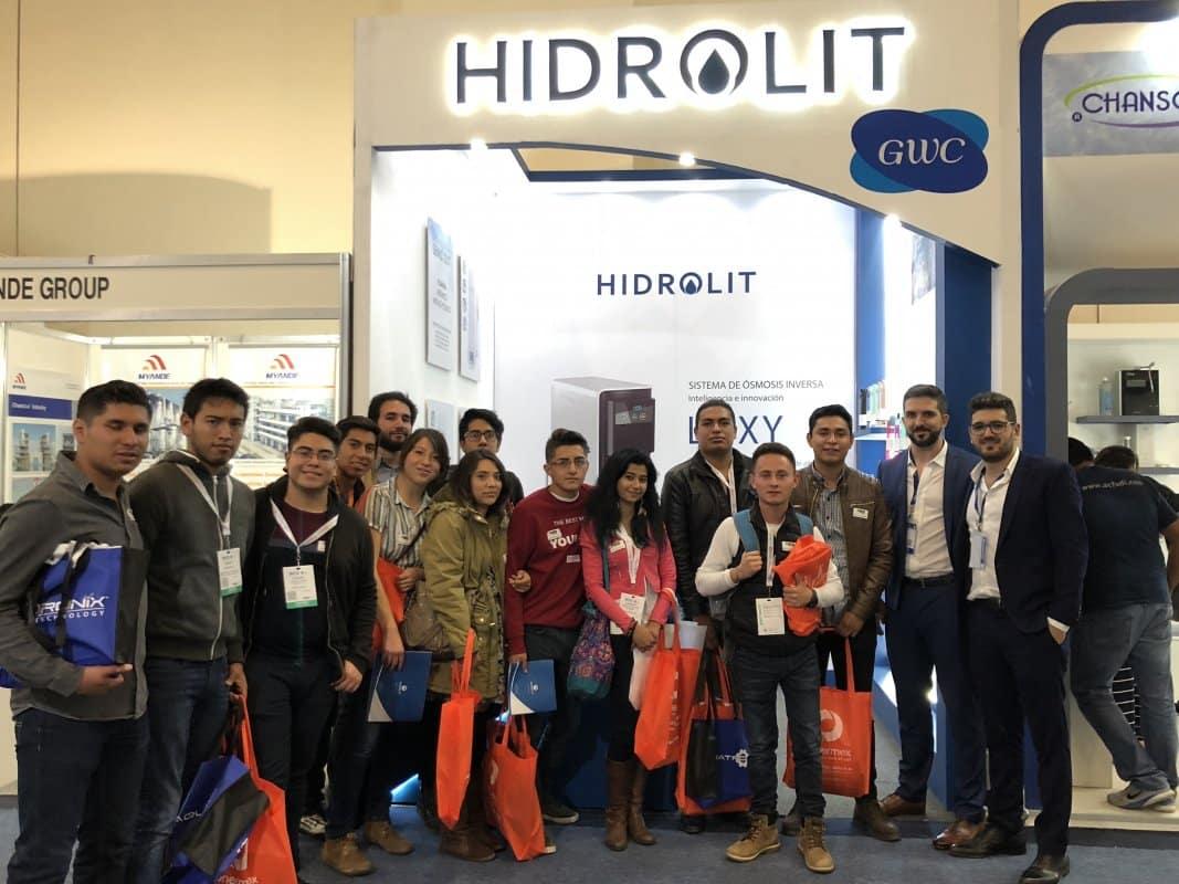 Hidrolit: Primera empresa argentina en estar presente en un Aquatech
